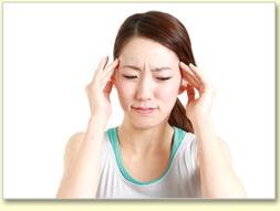 首や肩の痛み。ひどくなると頭痛になる。